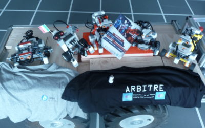 Intelligence artificielle sur robot Rafia'16