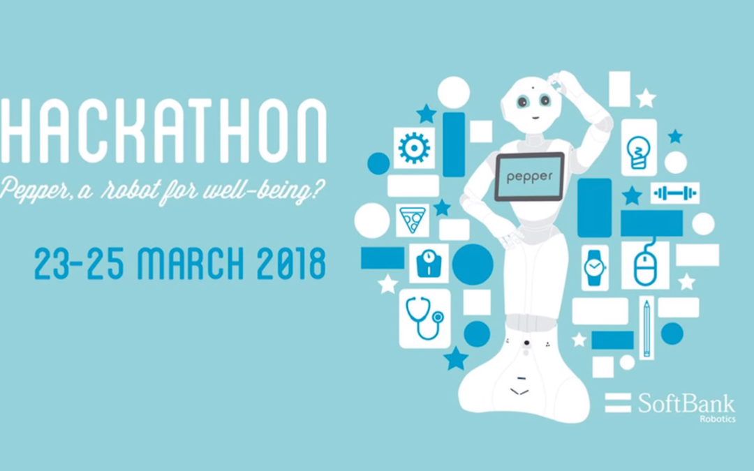 Pepper Hackathon 2018 – A robot for well-being